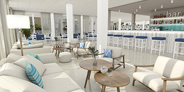bar salon blue sea cala millor