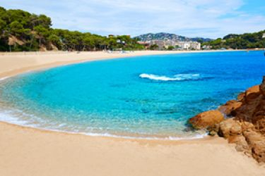 Playa fenals Costa Brava