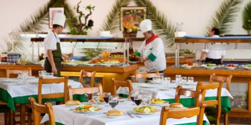 restaurante buffet blue sea gran playa
